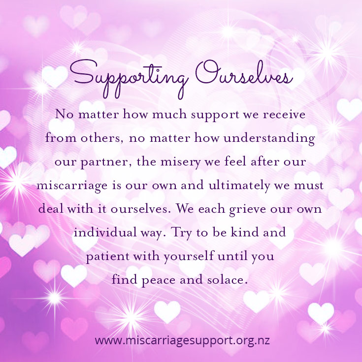 miscarriage-support-supporting-ourselves